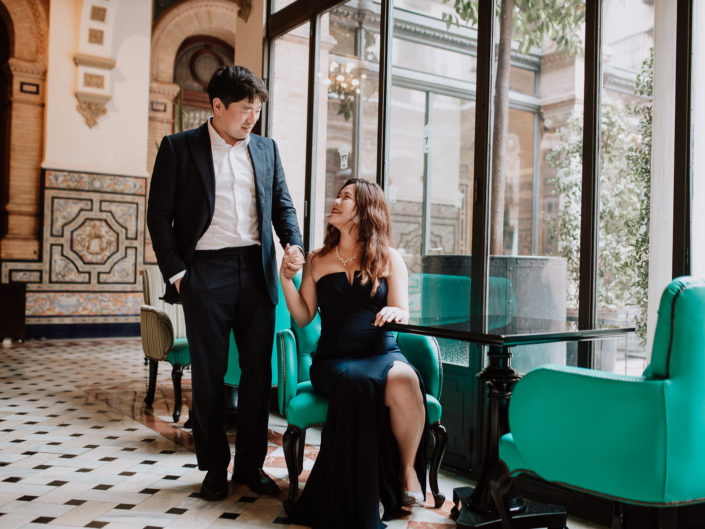 Asian Elopement in Seville | Aria + Ham
